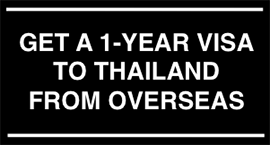 Get a long term Thai visa with ease