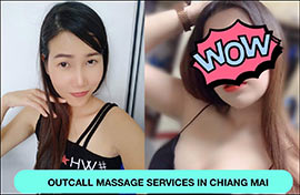 Best outcall massage to your hotel room in Chiang Mai