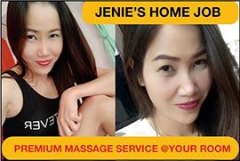 Jenie\'s Home Job - Room Massage Service