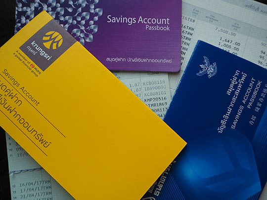 Open bank account in Thailand