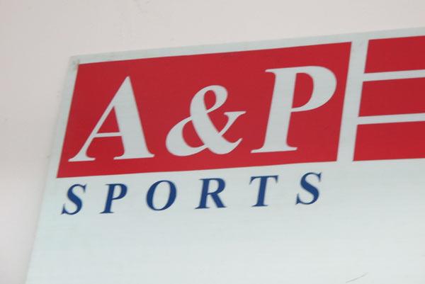 A&P Sports @Kad Suan Kaew