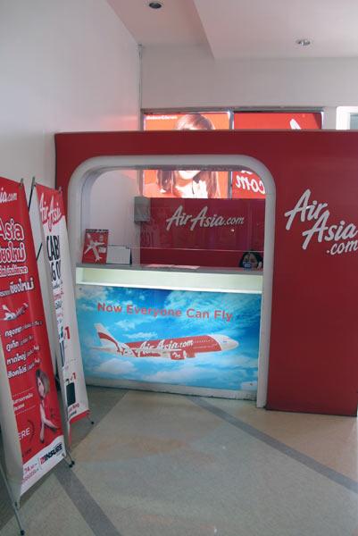 Air Asia @Tesco Lotus Chiang Mai Kad Kamtiang