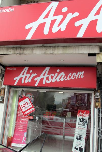 Air Asia (Thapae Gate)