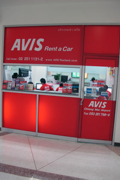 Avis Rent a Car @Chiang Mai Airport