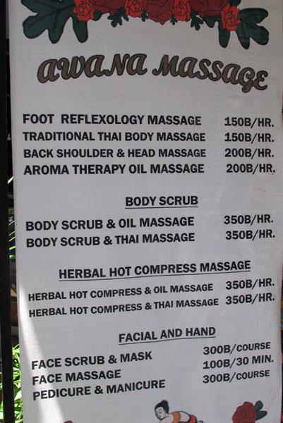 Awana Massage