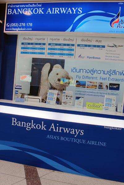 Bangkok Airways @Chiang Mai Airport