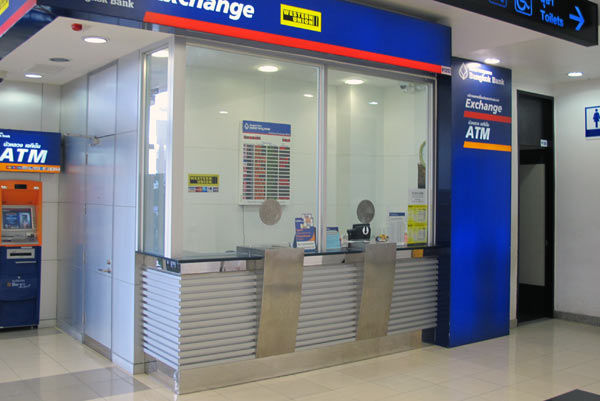 Bangkok Bank Exchange @Chiang Mai Airport