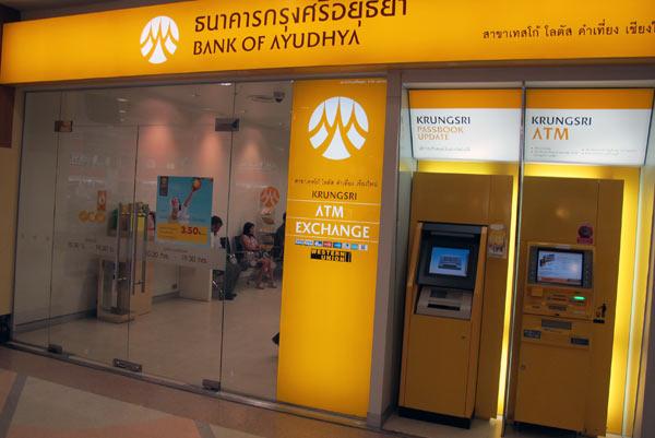 Bank of Ayudhya @Tesco Lotus Chiang Mai Kad Kamtiang