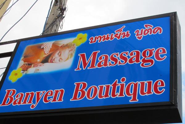 Banyen Boutique Thai Body Massage