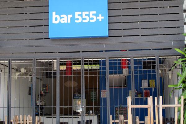 Bar 555+