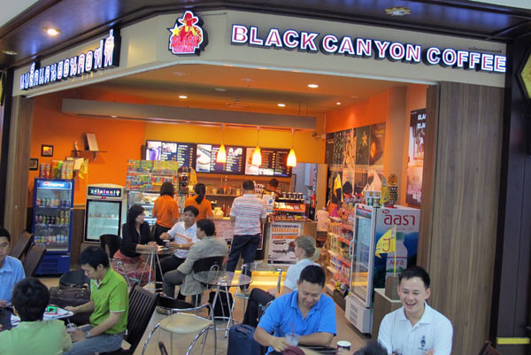Black Canyon Coffee @Chiang Mai Airport