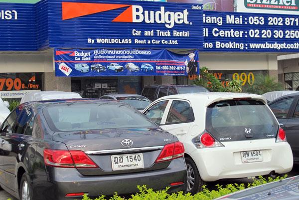 Chiang Mai Car And Motorbike Rentals