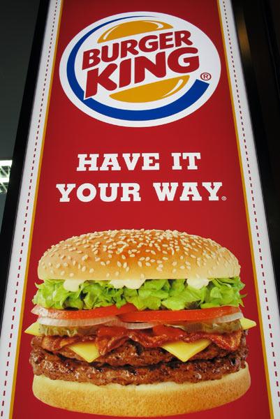 Burger King @Chiang Mai Airport