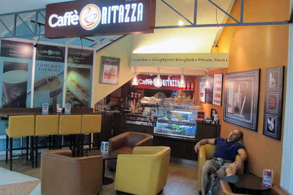 Caffe Ritazza @Chiang Mai Airport