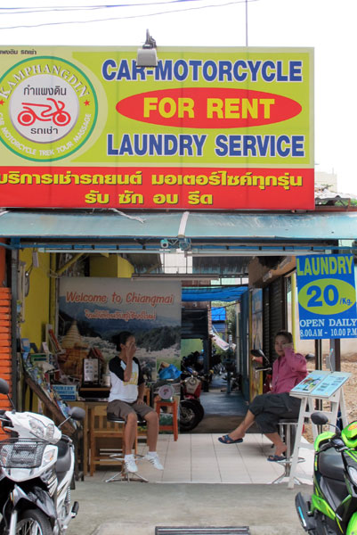Car-Motorcycle For Rent (Loi Kroh Rd)