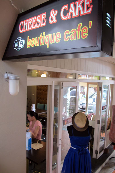 Cheese & Cake Boutique Cafe (Nimman Promenade)