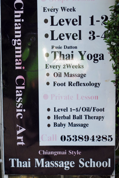 Chiang Mai Classic Art Thai Massage School