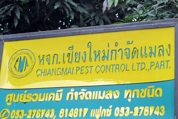 Chiang Mai Pest Control Ltd., Part.