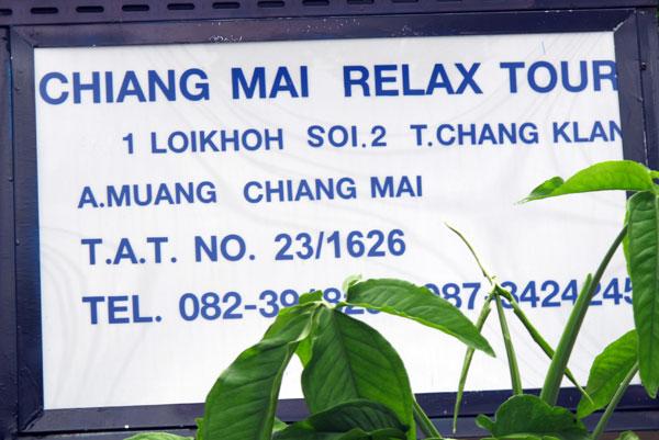 Chiang Mai Relax Tour
