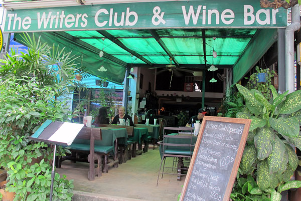 Chiang Mai Writers Club & Wine Bar