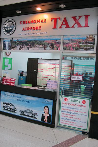 Chiangmai Airport Taxi @Chiang Mai Airport