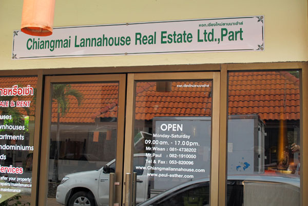 Chiangmai Lannahouse Real Estate Ltd., Part