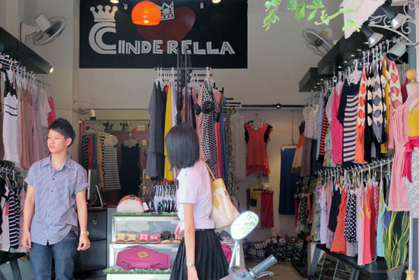 Cinderella (Clothes Shop)