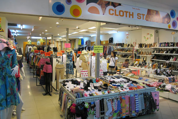 Cloth Station @Kad Suan Kaew