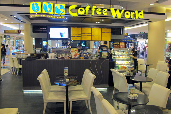 Coffee World @Central Airport Plaza