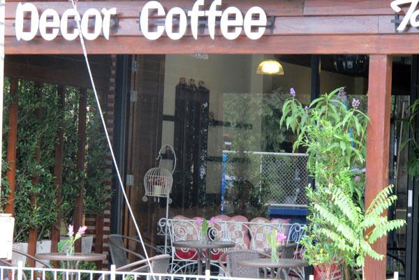 Decor Coffee @Baan Tawan Shine