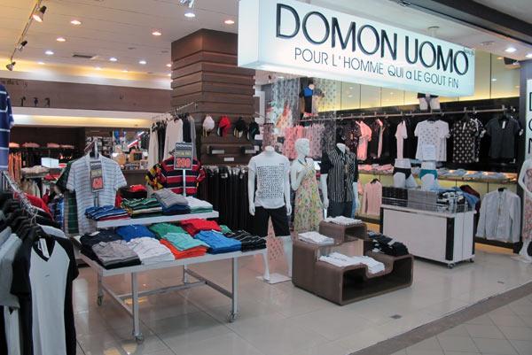 Domon Uomo @Kad Suan Kaew