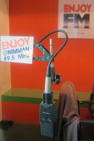Enjoy @Nimman 89.5 MHz @Punna Place Nimman Soi 6