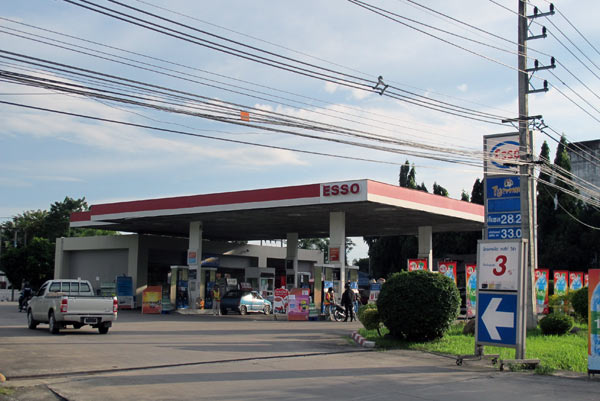 Esso Gas Station (Chiang Mai - Lampang Superhighway)