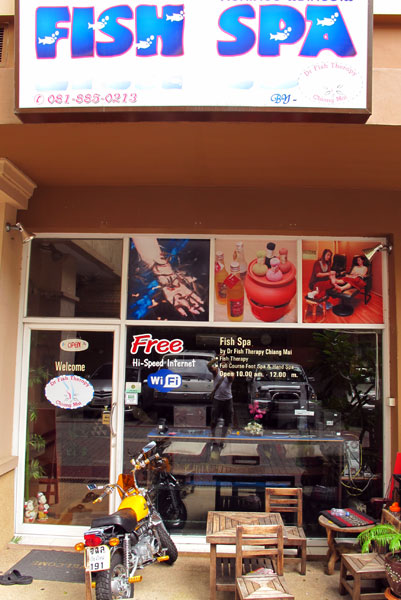 Fish Spa (Maninarekorn Hotel area)