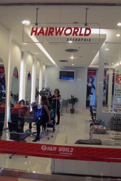 Hairworld Grandprix @Central Airport Plaza