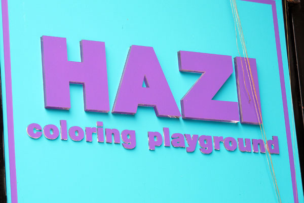 Hazy Coloring Playground (Nimmanhemin Soi 5)