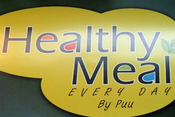 Healthy Meal @Kad Suan Kaew