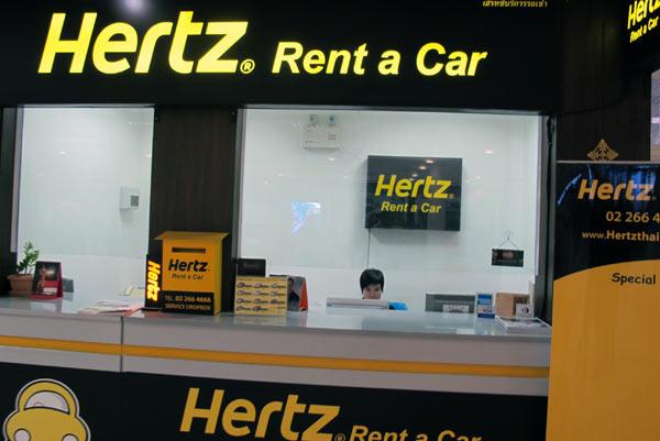 Hertz Rent a Car @Chiang Mai Airport