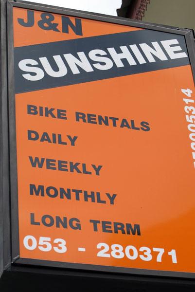J&N Sunshine Motor & Bicycle Rental