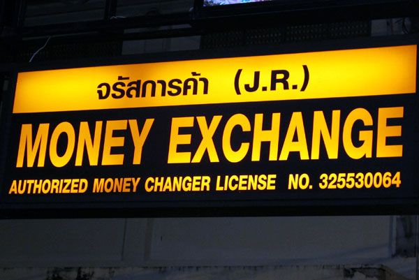 (J.R.) Money Exchange