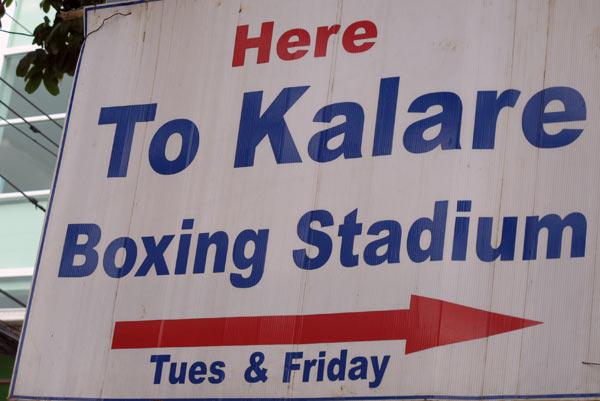 Kalare Boxing Stadium