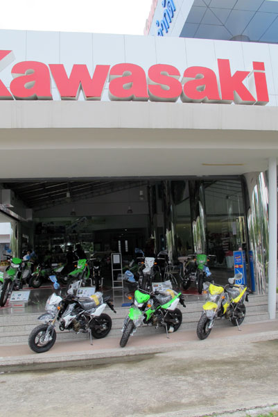 Kawasaki Big Bike Dealers