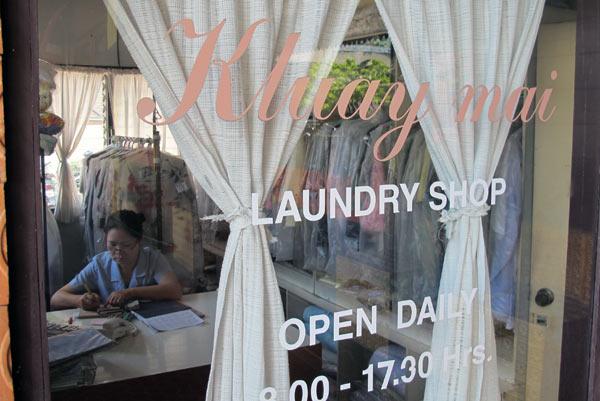 Kluay Mai Laundry Shop @Orchid Hotel