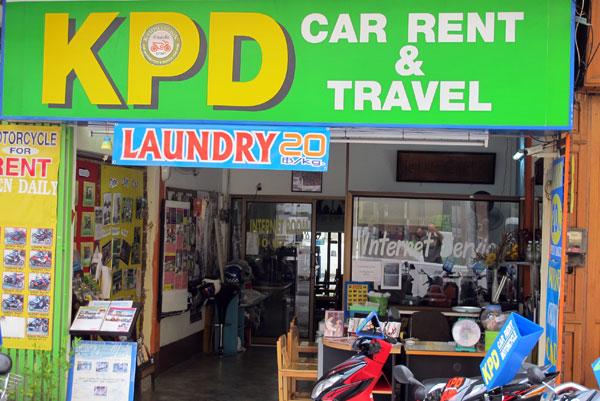 KPD Car Rental & Travel (Tha Pae Soi 1 & Loy Kroh Road)