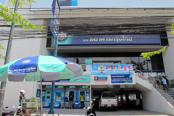 Krung Thai Bank (Suthep Rd Branch)