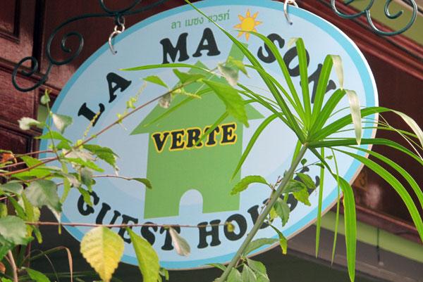 La maison Verte Guest house