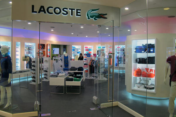 Lacoste @Central Airport Plaza