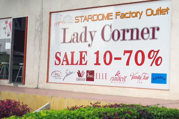 Lady Corner Stardome Factory Outlet' photos