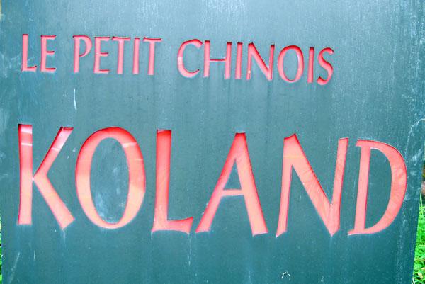 Le Petit Chinois Koland