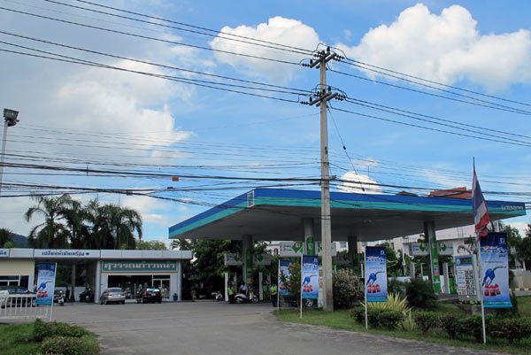 Local Gas Station (Superhighway Chiangmai-Lampang Rd)